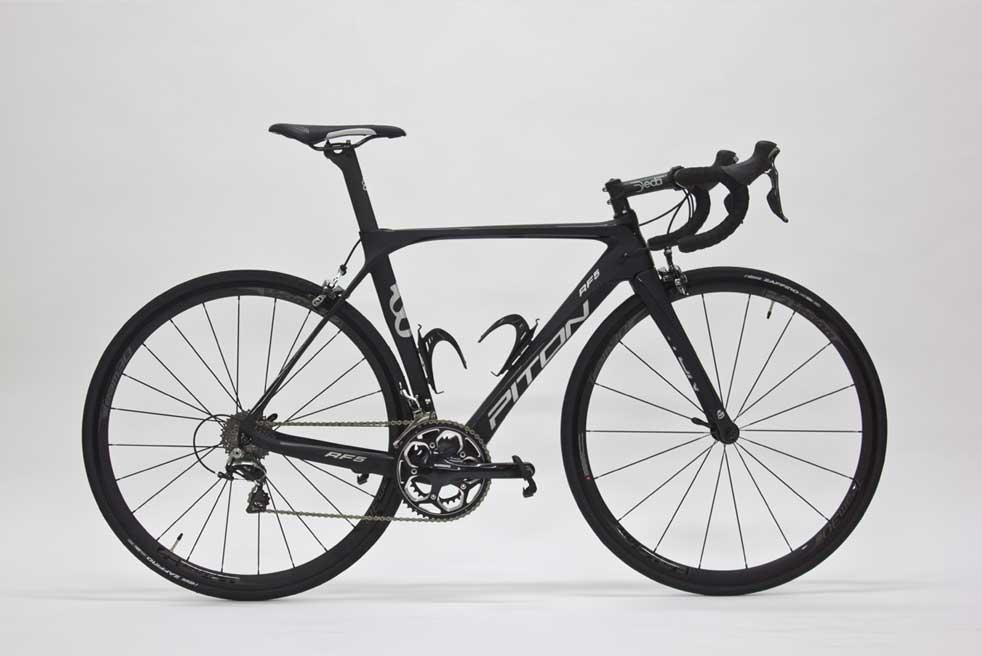 Bicicletta da strada Piton black RF5 usato